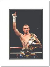 George Groves Autograph Signed Photo